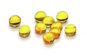 D-vitamin i kapselform og opløst i olie for bedre optagelighed.